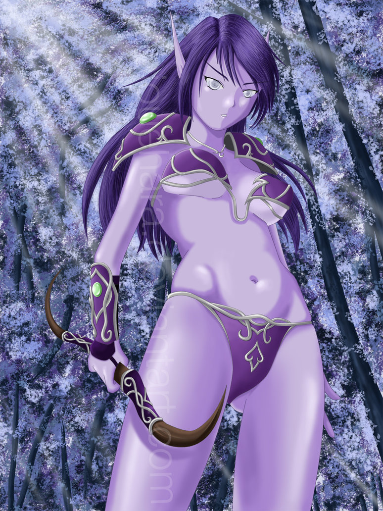 Nightelf boobies 3d hentai tube